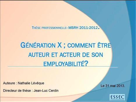 Generation X : Comment être auteur et acteur de son employabilité ? - Code Formation | Portfolio numerique | Scoop.it