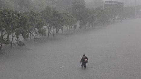 Floods cover more than half of Philippine capital   Year 5 Geography: Flooding in the Asia region   Scoop.it