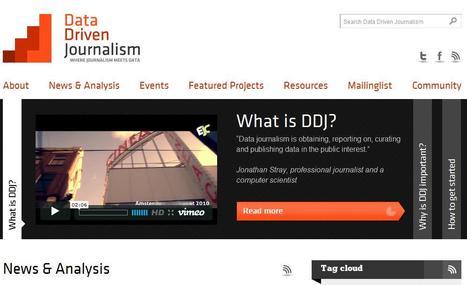 Data Driven Journalism | Top sites for journalists | Scoop.it