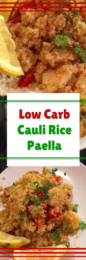 Low Carb Paella Using Cauli Rice | Best Easy Recipes | Scoop.it