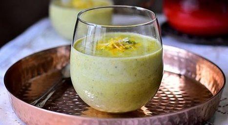 Velouté de brocolis au cheddar | Cuisine Du Monde -cuisine Algerienne- recettes ramadan | Scoop.it