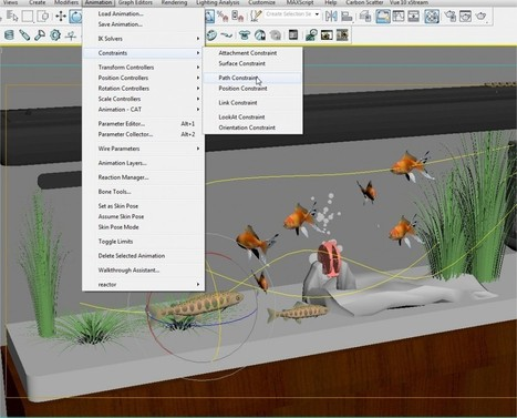 Video Tutorial - Easy animation with Path Constraint in 3ds Max | Chronos Studeos Blogsite | 3D Architectural | Scoop.it