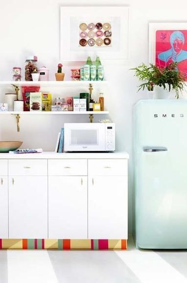 5 Ideas para decorar los muebles de la cocina con bricolage | Deco! | Scoop.it