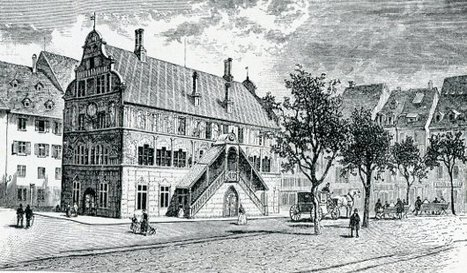 Le Furet Mulhousien - La Rue des Archives Ancienne Walbachgâsslein Le Mulhouse Historique | GenealoNet | Scoop.it