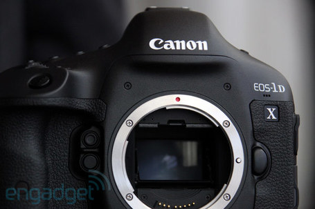 "Canon EOS-1D X first hands-on (video) | ""Cameras, Camcorders, Pictures, HDR, Gadgets, Films, Movies, Landscapes"" 