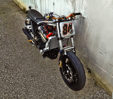 ZRX 1.2 Tracker by MHC | Cafe racers chronicles | Scoop.it
