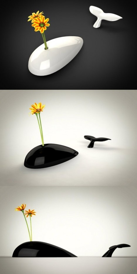 Innovative Flower Vases | Home and House Design | What Surrounds You | Scoop.it