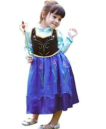 EBEN BRAND Girl's Princess Anna Character Costume Christmas Party Dress 4-5T | Health and Beauty Care | Scoop.it