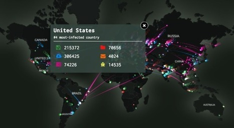 Watch Every Cyber Attack in the World in Real Time | Educational technology | Scoop.it