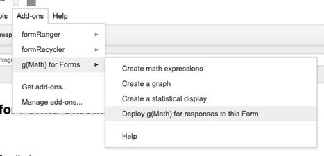 Math Tech Tips: g(Math) can now be used to respond to Forms! | Web 2.0 for Education | Scoop.it