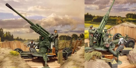 Soot. 52-k 85mm Flak M1939 | Military Miniatures H.Q. | Scoop.it