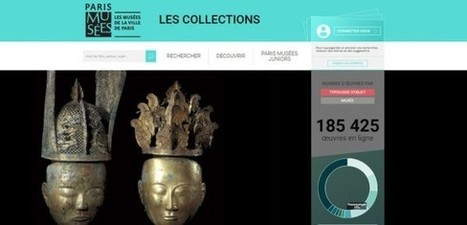 Paris Musées lance une nouvelle plateforme de découverte et de valorisation des collections des musées de la Ville de Paris | Clic France | Scoop.it