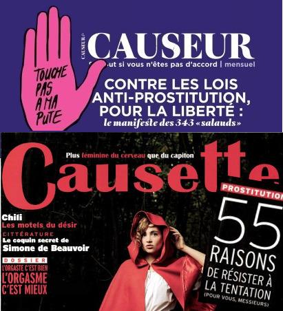 Causette et Causeur, match nul | DocPresseESJ | Scoop.it