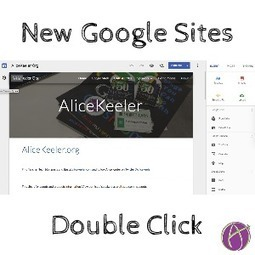 New Google Sites: Double Click - Teacher Tech | Into the Driver's Seat | Scoop.it