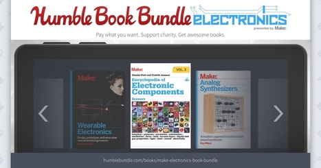 Humble Book Bundle: Electronics Presented by Make: | Books, Photo, Video and Film | Scoop.it