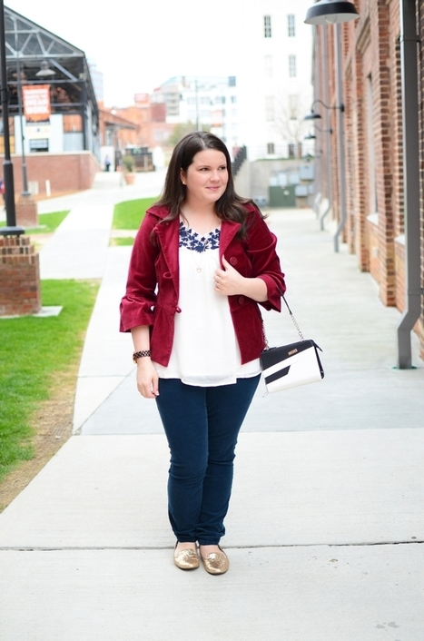"""A """"winter"""" outfit, Miche purse review, & Funday Monday Link-Up! - still being [Molly] 