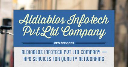 Aldiablos Infotech Pvt Ltd Company – KPO Services for quality networking | Aldia|blos Infotech | Scoop.it