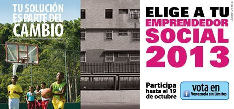 Concurso Emprendedor Social del Año 2013 ya tiene sus 10 semifinalistas   VSL   Ambiente Urbano, Desarrollo Sostenible y Calidad de Vida   Scoop.it