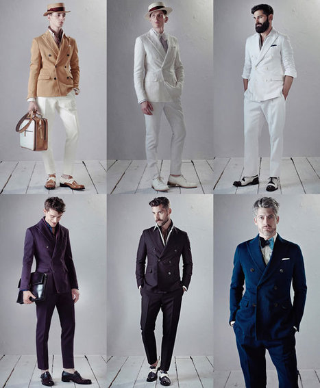 The Double-Breast suits it's the Men's Spring/Summer 2014 Fashion Trend   Le Marche & Fashion   Scoop.it