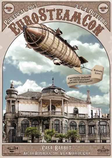 Ouroboros Lair: EuroSteamCon 2015 (3 e 4 de Outubro - Casa Barbot, Vila Nova de Gaia) | Paraliteraturas + Pessoa, Borges e Lovecraft | Scoop.it