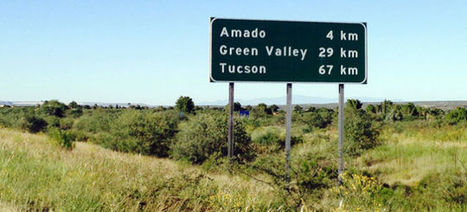 An Arizona highway has used the metric system since the 80s | Strange days indeed... | Scoop.it