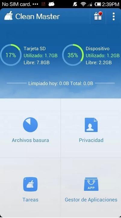 Limpia tu dispositivo Android con Clean Master   EnVrac   Scoop.it