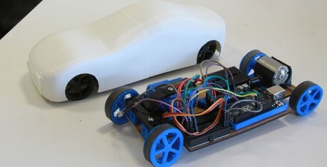 Arduino + Car = Carduino. 3D Printed RC Car That Can Be Customized, Printed ... - 3DPrint.com | Bring back UK Design & Technology | Scoop.it