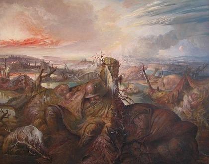 Otto Dix, Altdorfer e la tragedia della guerra | Capire l'arte | Scoop.it