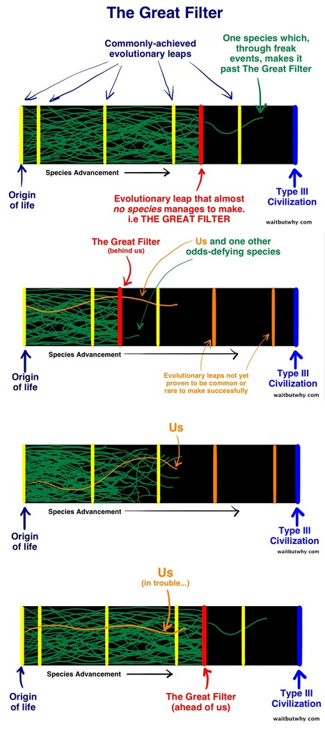 Fermi Paradox: Where is the Great Filter and Where Are We?   Amazing Science   Scoop.it