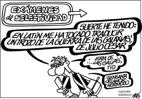La extraña odisea del latín y el griego en Secundaria | Ganimedes | Scoop.it