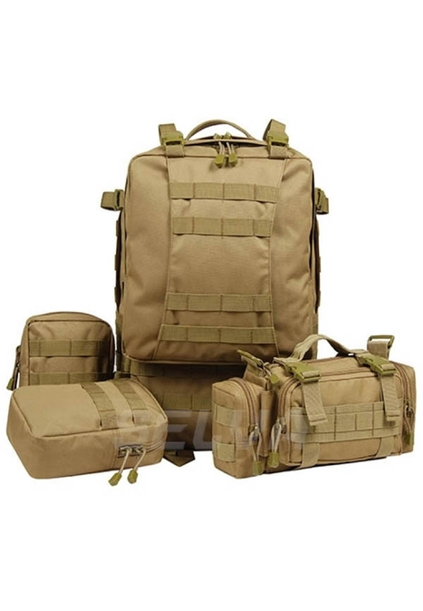 Tan Large Molle Assault Tactical Backpack Military Rucksack | Military Surplus Canada | Scoop.it