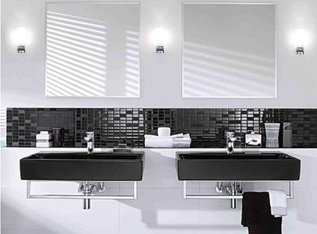 Le noir dans nos salles de bains pour une touche encore plus design ! | La Revue de Technitoit | Scoop.it