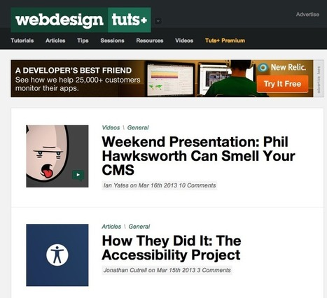 15 Online resources for learning web design | The Open Classroom - Open Learningk12 | Scoop.it