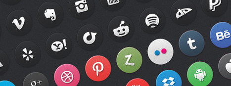 24 Circle Social Media Icons | Viral Classified News | Scoop.it