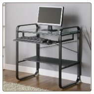 Gray Computer Desk - Coaster Furniture | Coaster Furniture | Scoop.it