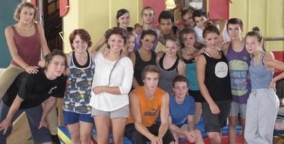 Tous prêts à bousculer l'école de cirque #Châtellerault   ChâtelleraultActu   Scoop.it