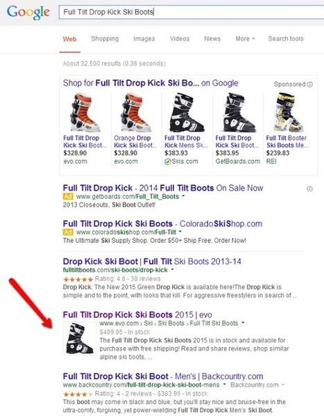 Images produits dans la SERP #Google | Agence Web KiwiLab: Veille référencement web et Blog web 2.0 | Scoop.it