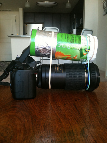 [Hack] Super Easy Macro Lighting Using a Pringles Can | Photography Gear News | Scoop.it