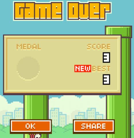 The Viral Rise & Fall Of Flappy Bird - Marketing Land | App Marketing & PR | Scoop.it