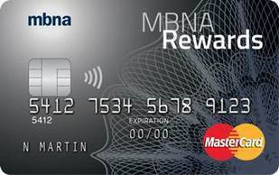 MBNA Rewards MasterCard Credit Card Review - GreedyRates | Credit Cards | Scoop.it