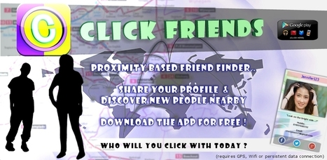 Click Friends Friends Finder App iPhone / Android | Totally cool android app related content | Scoop.it