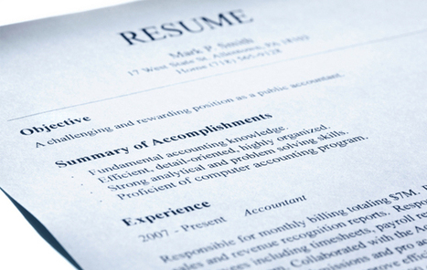 5 Resume Secrets That Give You an Edge | RecruiterNation | Scoop.it