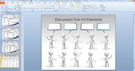 Animated Callouts, Speech Bubbles and Discussion Templates for PowerPoint Presentations | PowerPoint Presentation | Aprendiendo a Distancia | Scoop.it