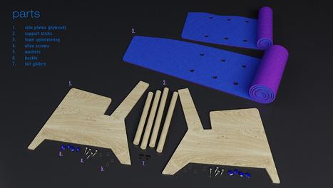 Foam-functional Furniture! | L'Etablisienne, un atelier pour créer, fabriquer, rénover, personnaliser... | Scoop.it
