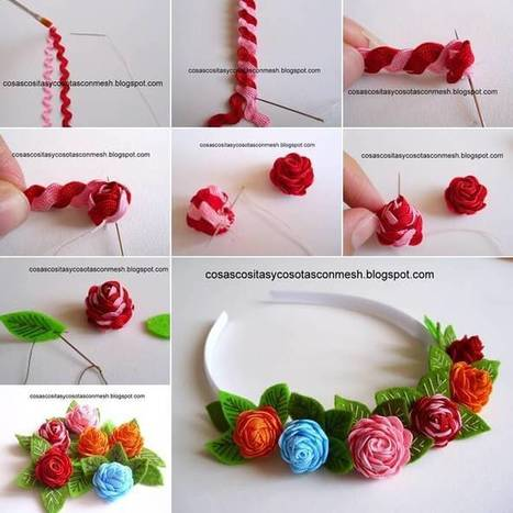 Decorate Your Headband with These Awesome Ric Rac Roses   Stylish Board   Scoop.it