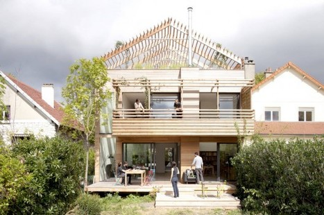Eco-Sustainable House / Djuric Tardio Architectes | sustainable architecture | Scoop.it