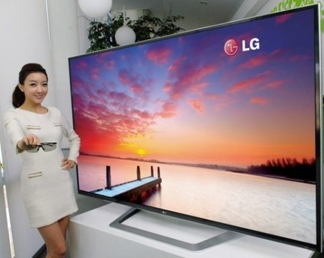 LG unveils 84-inch 'ultra definition' 4K TV it's bringing to CES 2012 | Technology and Gadgets | Scoop.it