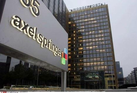 Faute de liberté, le groupe de médias Axel Springer vend ses titres en Russie | DocPresseESJ | Scoop.it