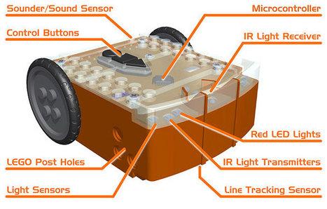 Edison: Open-source Low Cost LEGO-compatible Platform | Into Robotics | Heron | Scoop.it