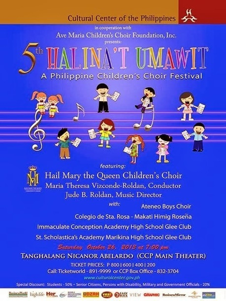 5th Halina't Umawit : A Philippine Children's Choir Festival | Civil ... | Philippine Festivals | Scoop.it